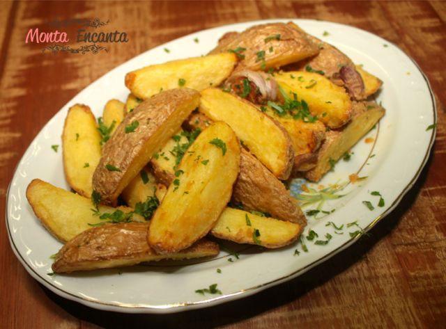 Batata Rústica – Maquina que frita sem Óleo