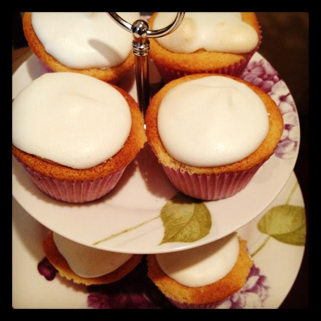 CupCake Torta de Limão, a melhor cobertura!