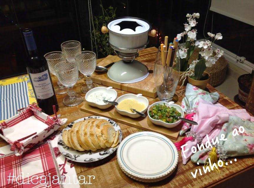 Fondue de Carne ao Vinho