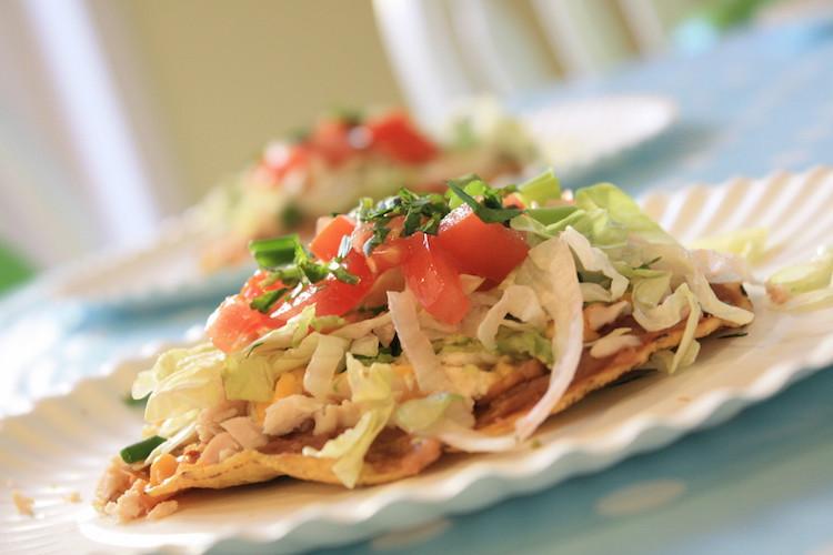 Taco de Carne Moída, comida mexicana pá pum!
