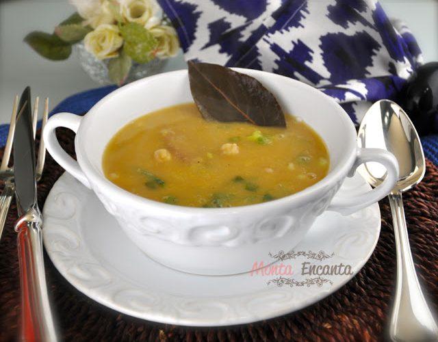 Sopa Creme de Grão de Bico