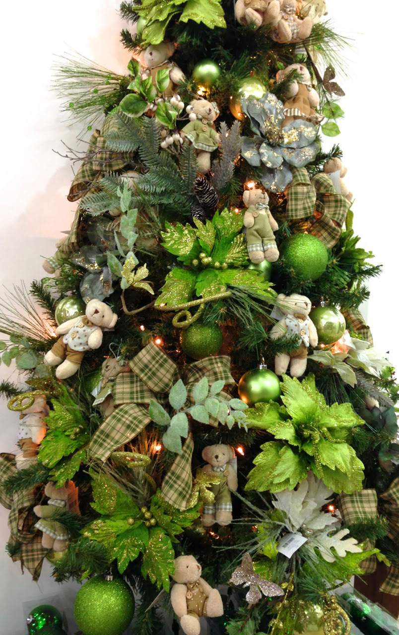 decoracao arvore de natal vermelha e dourada : decoracao arvore de natal vermelha e dourada:Qual vai ser a cor da Árvore de Natal ? – Monta Encanta