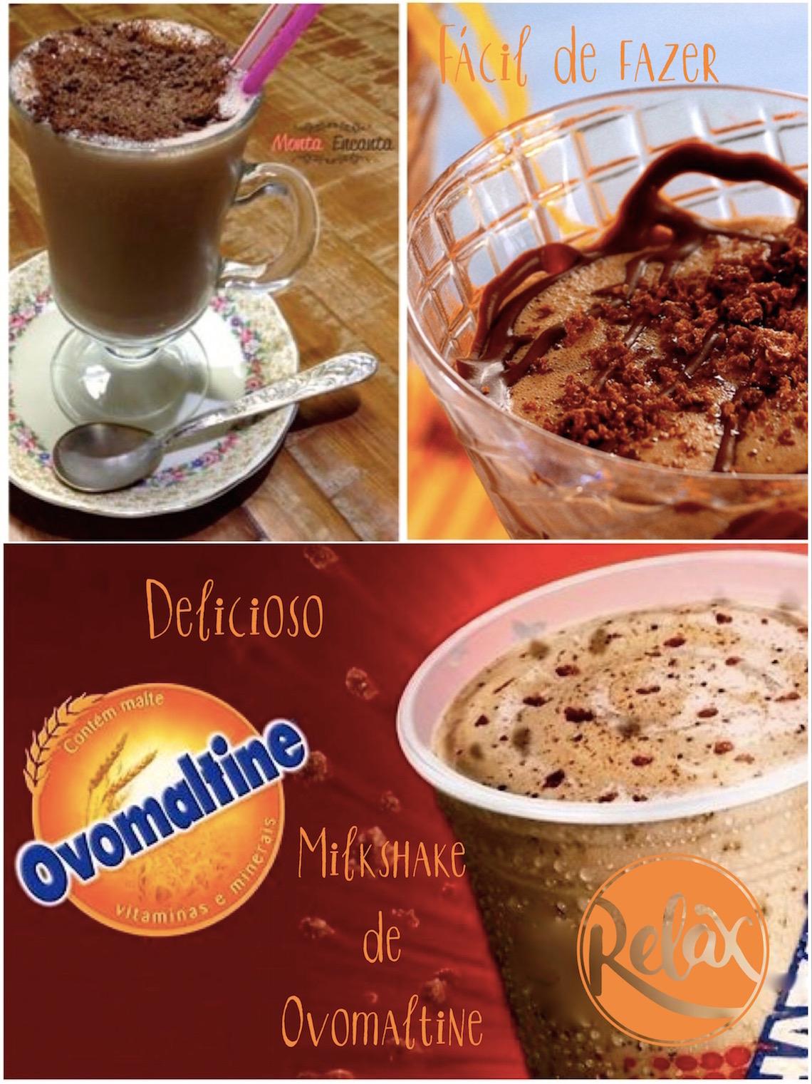 MilkShake Ovomaltine