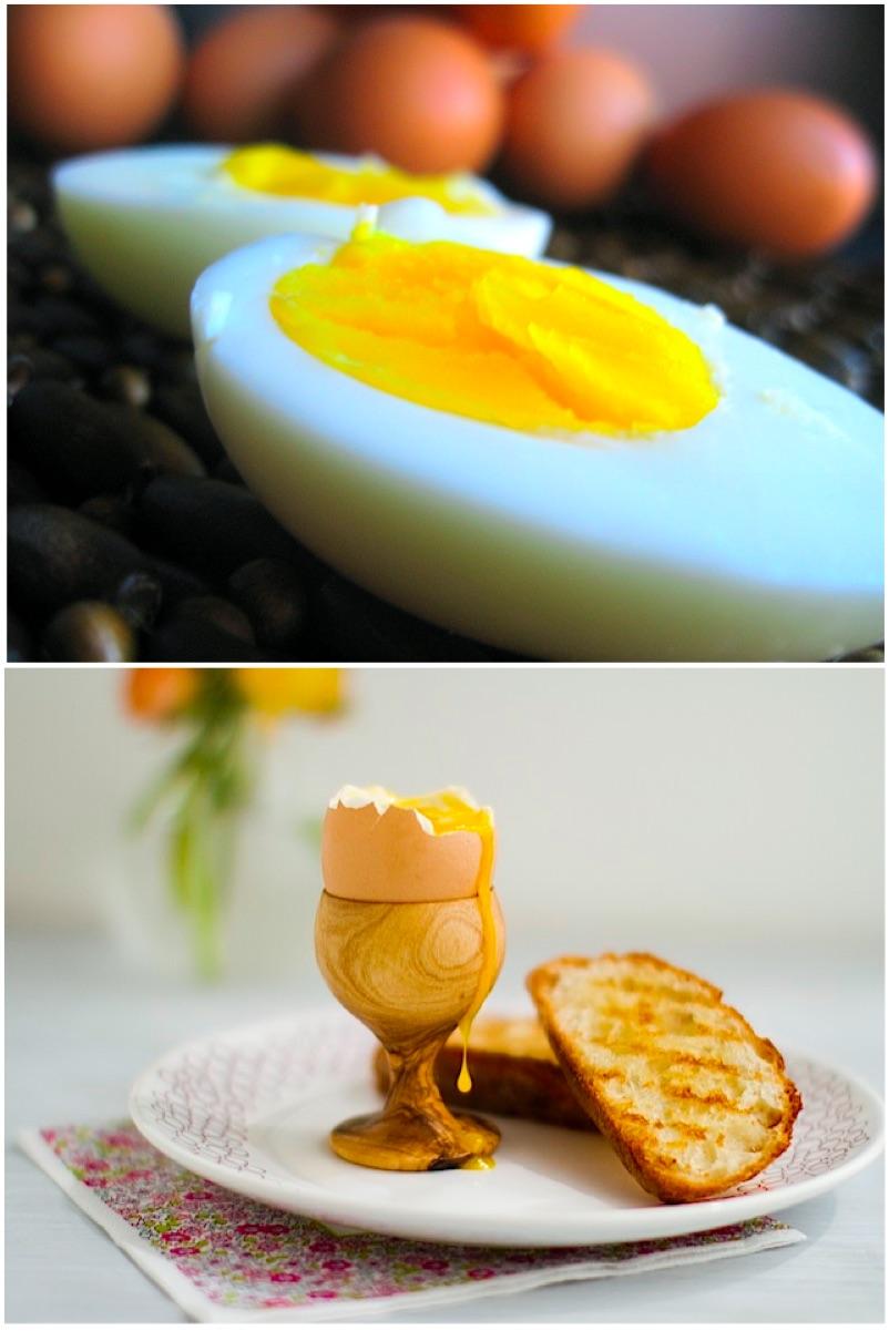 Ovos Cozidos Perfeitos