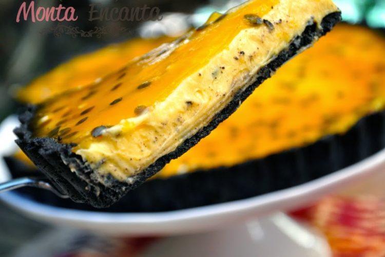 Torta Oreo Trufada de Maracujá