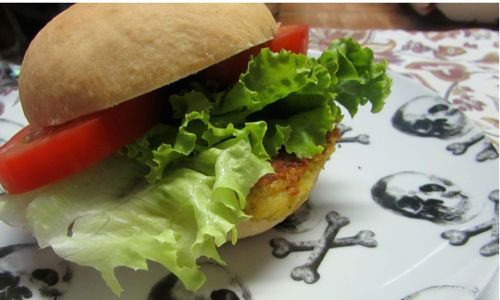 Hambúrguer de Grão de Bico surpreende de tão gostoso