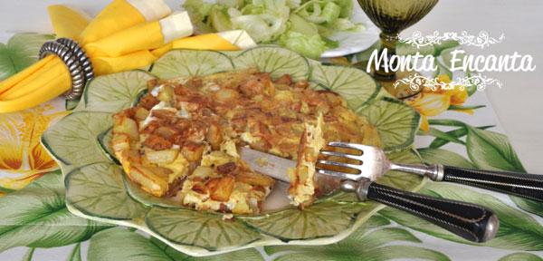 Omelete de batatas