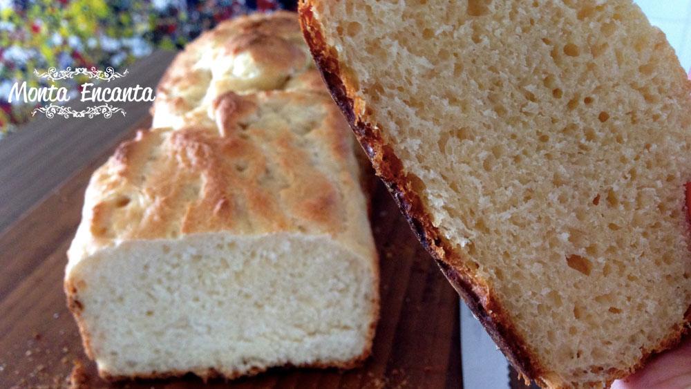 Pão de manteiga, sem sova e sem sujeira!