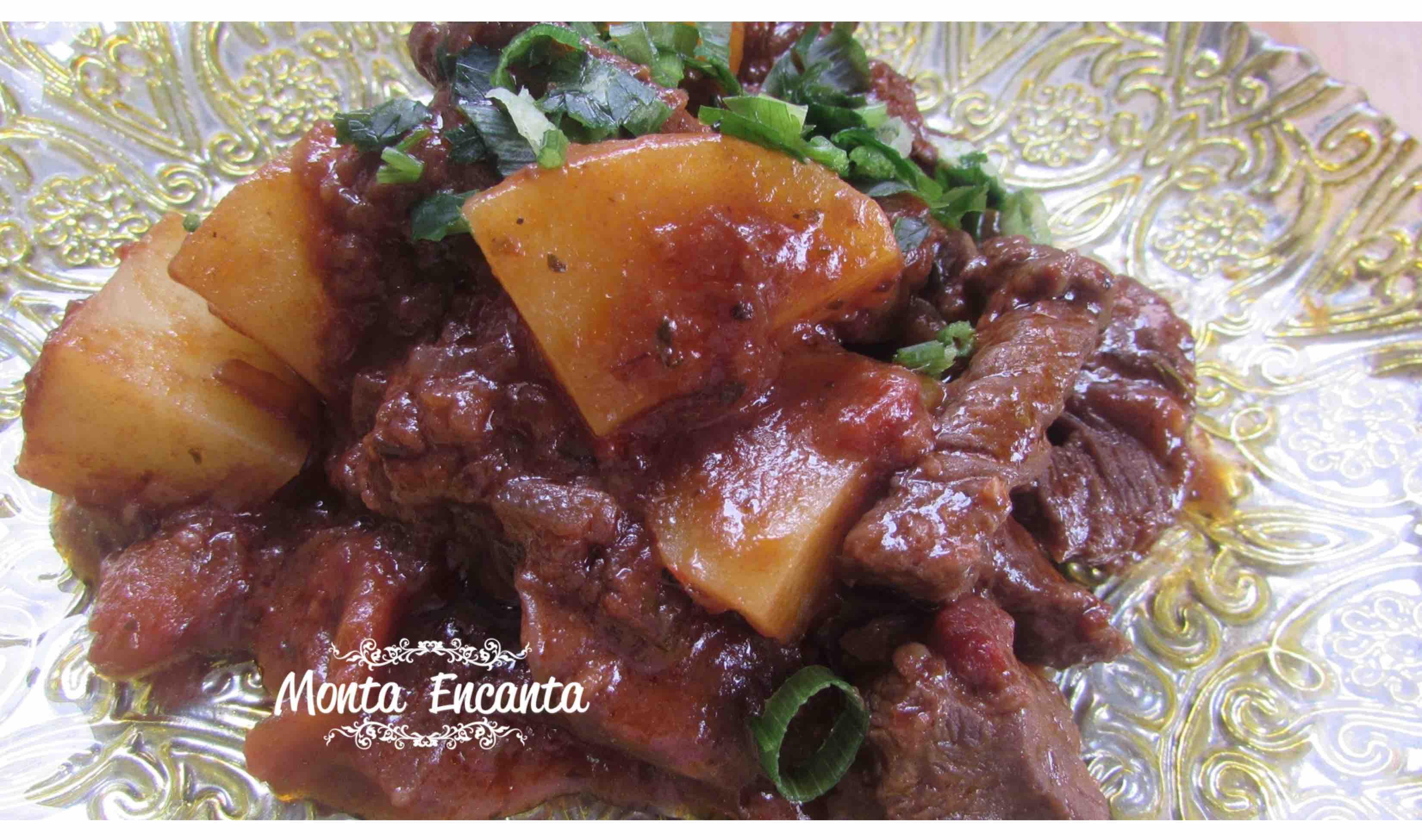 Picadinho de Maminha com Batata, receita de chef!