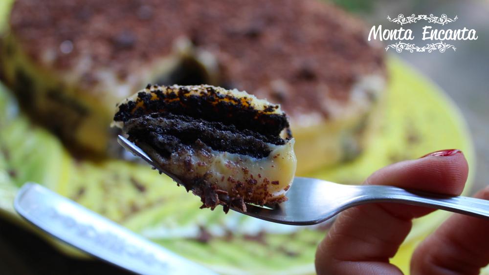 Torta de Palha Italiana Laka Oreo, divina!