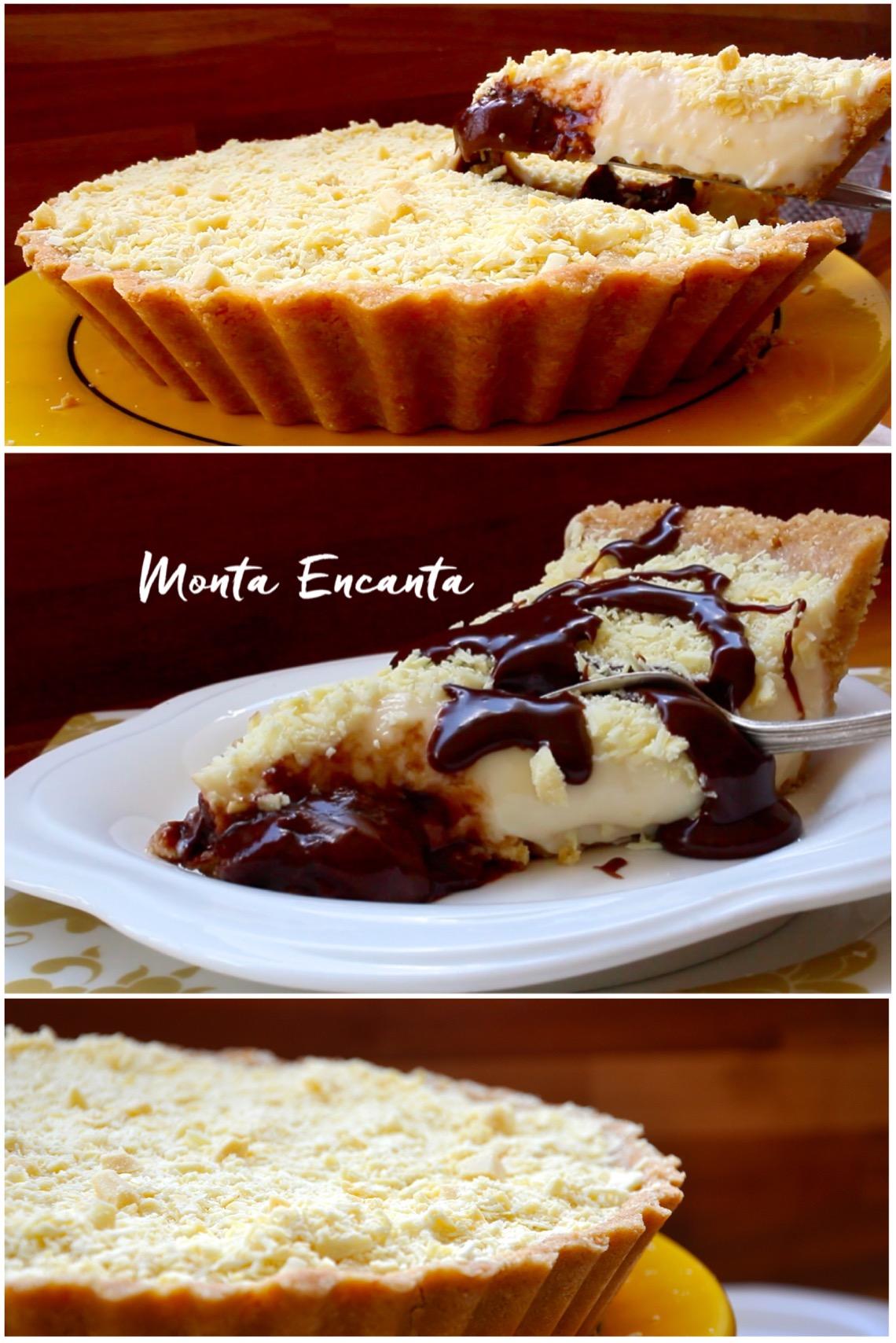 Fabuloso Torta Mousse de Leite Ninho com Nutella - Monta Encanta ZG06