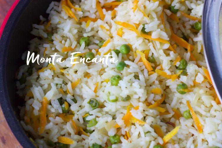 Arroz à Grega uma repaginada no arroz de ontem!