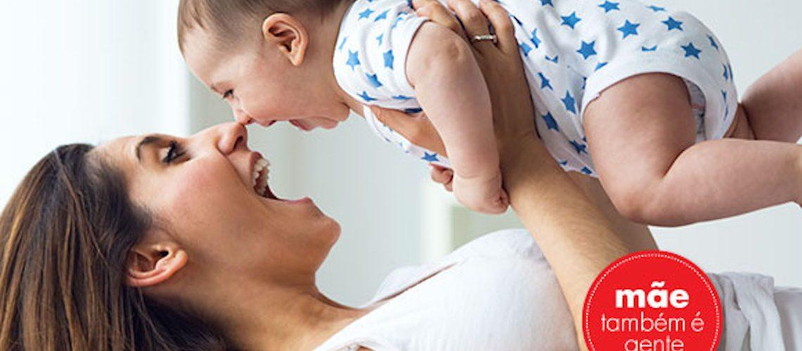 Só cria filho feliz uma mãe feliz