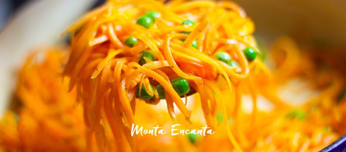 Spaghetti de Cenoura