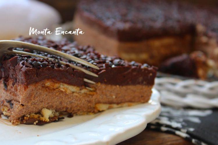 Torta Mousse de Brigadeiro, pá pum de fazer!