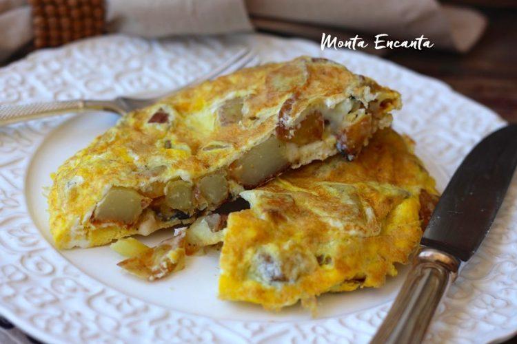 Tortilha Espanhola de batata frita, receita original!