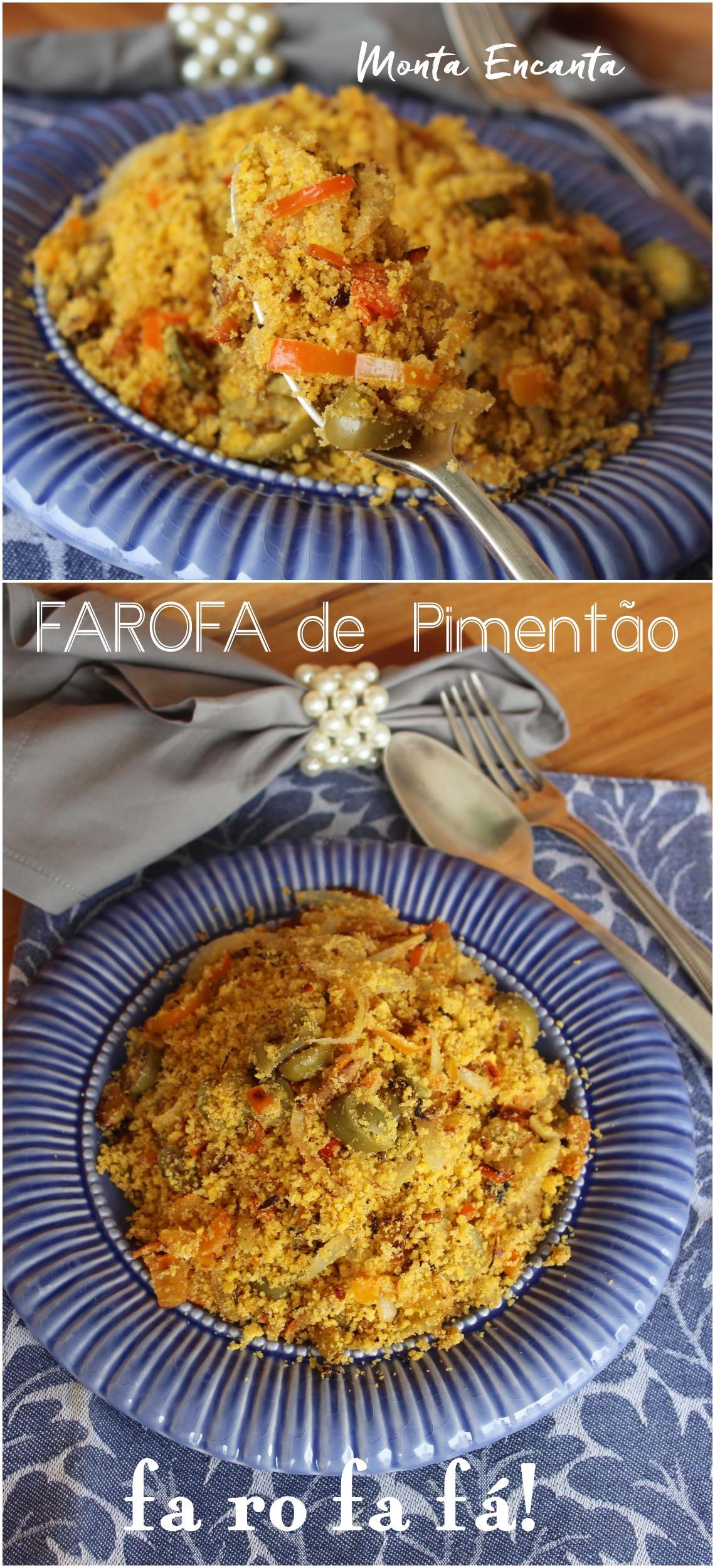 farofa de pimentao