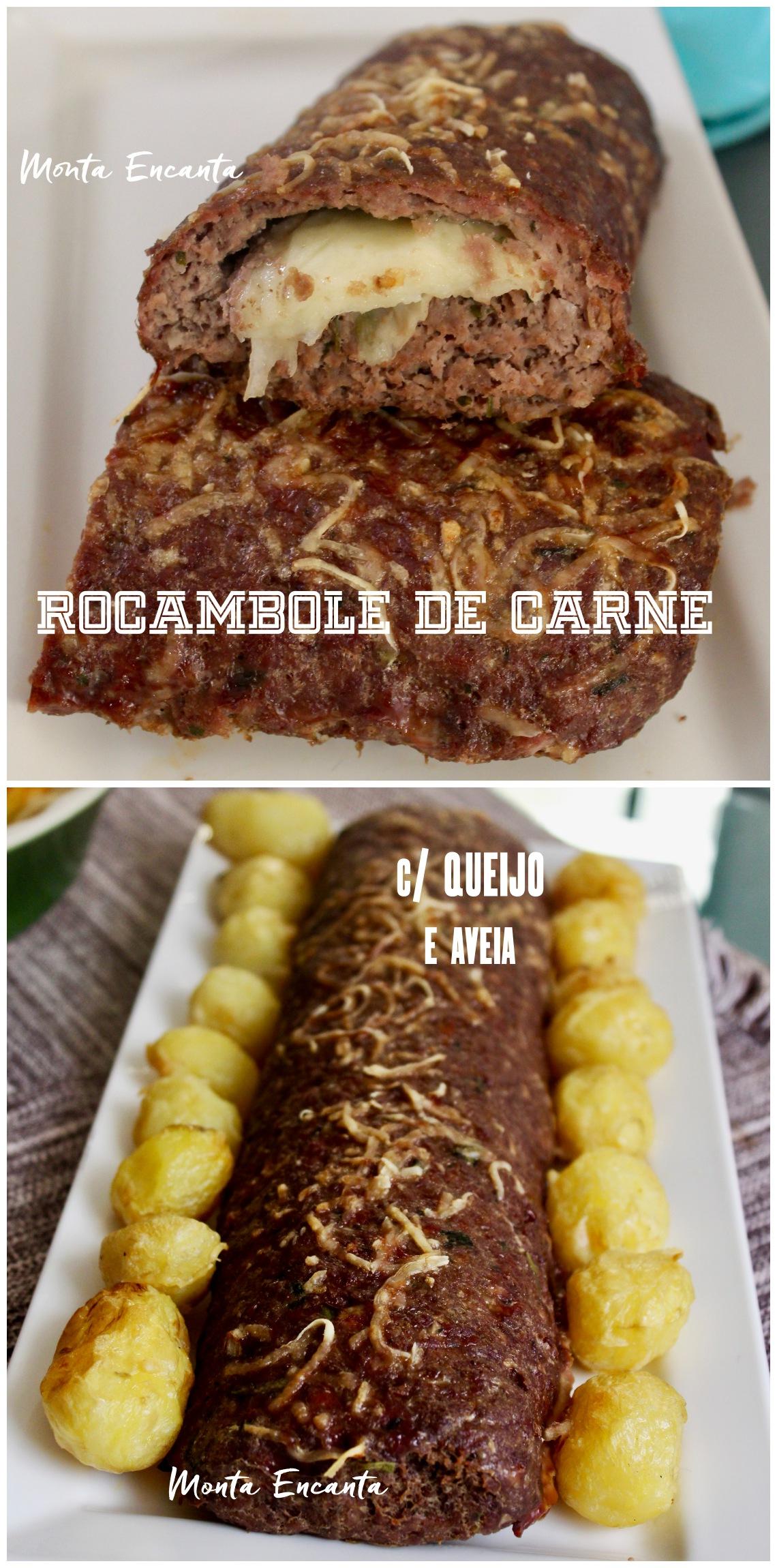 rocambole de carne