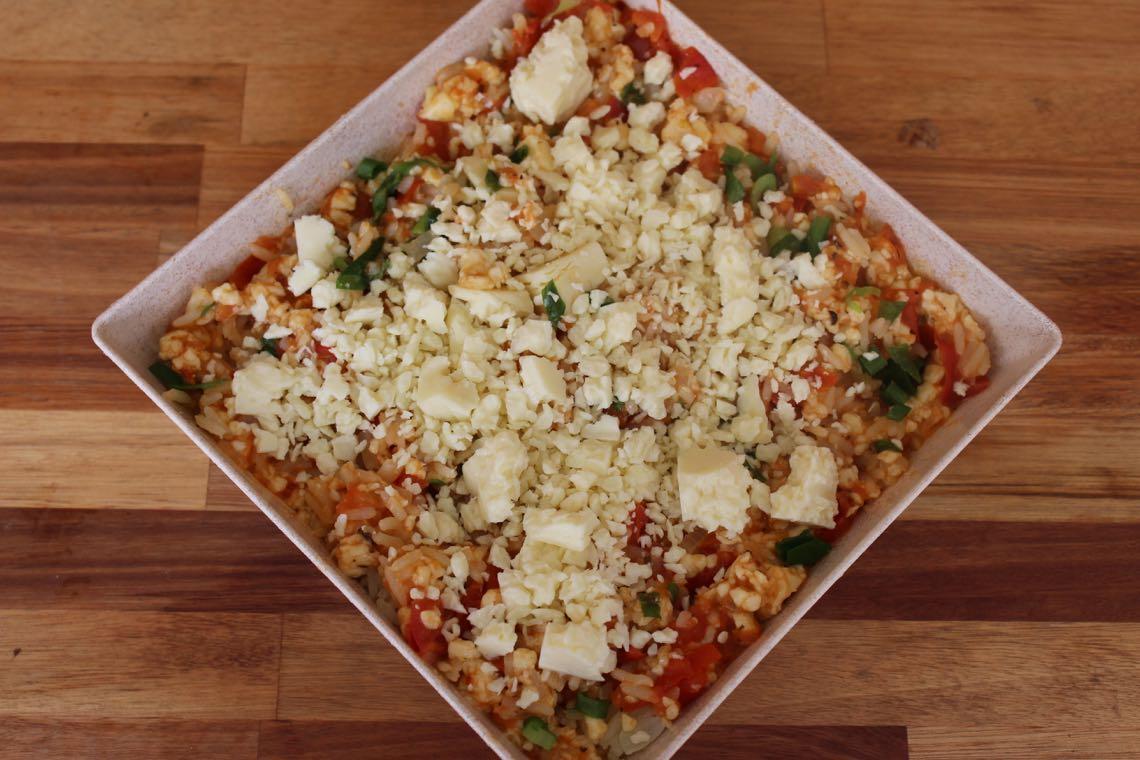 arroz pizza