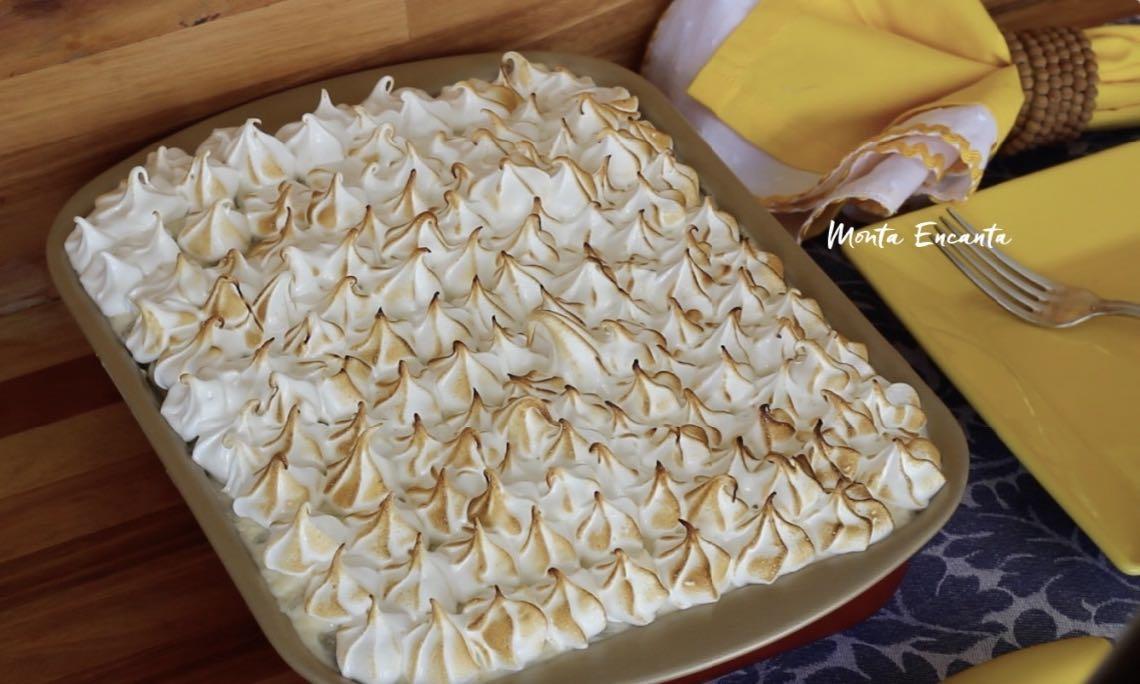 bolo gelado de abacaxi