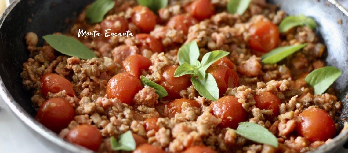 Molho à Bolonhesa de Tomate Sweet tem talento!