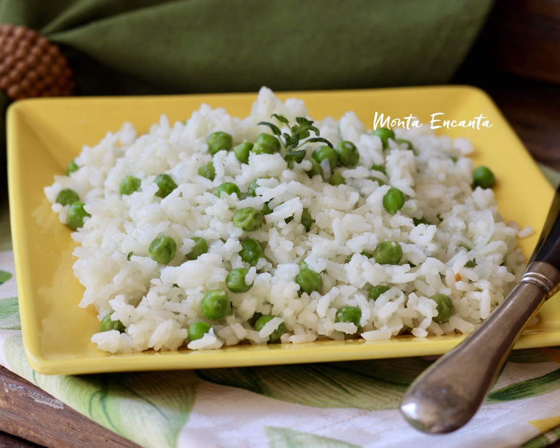 arroz com ervilha