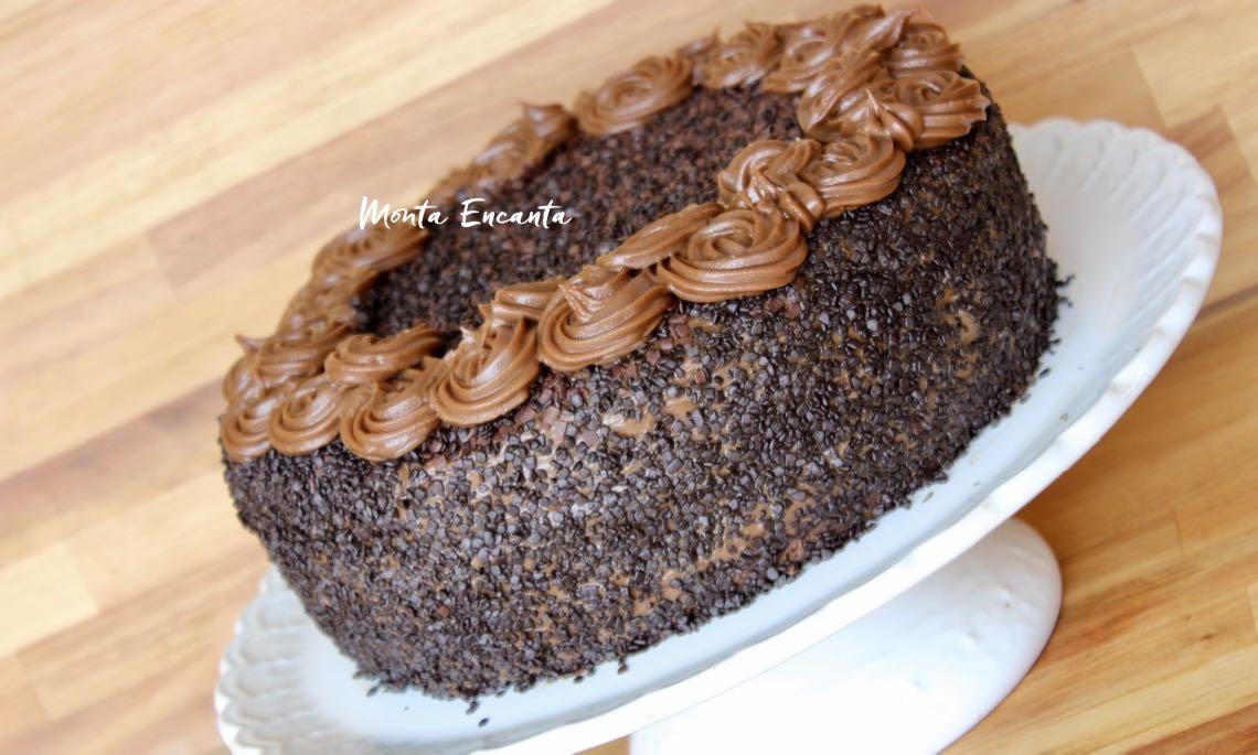 bolo de brigadeiro gourmet