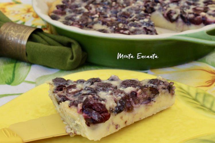 Torta Creme de Cereja, Cherry Clafoutis!