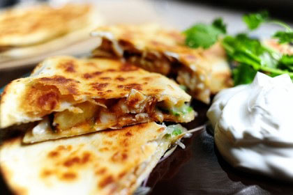 Chicken Quesadilla Mexicana