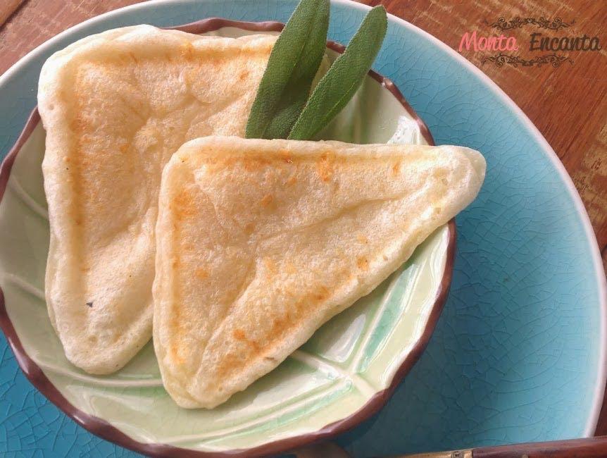 Pão de Queijo na Sanduicheira