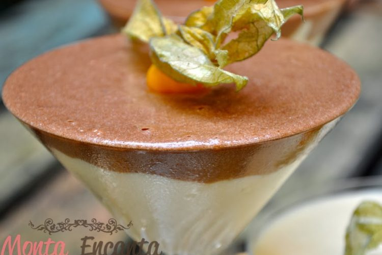 Mousse de Nutella e Mousse Laka