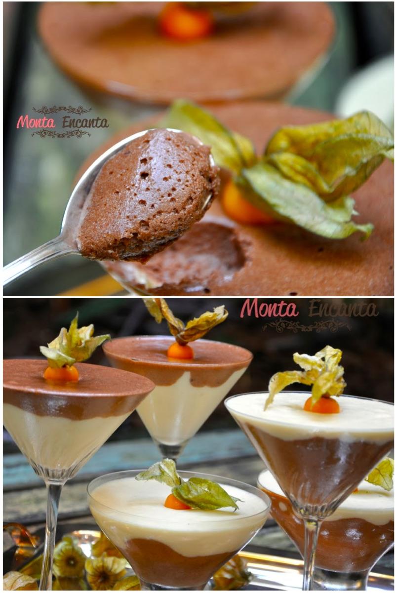 Mousse de Nutella e Mousse Laka
