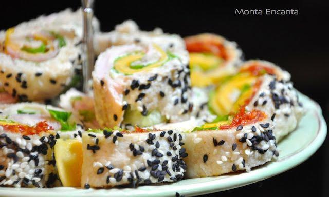 sushi de pão