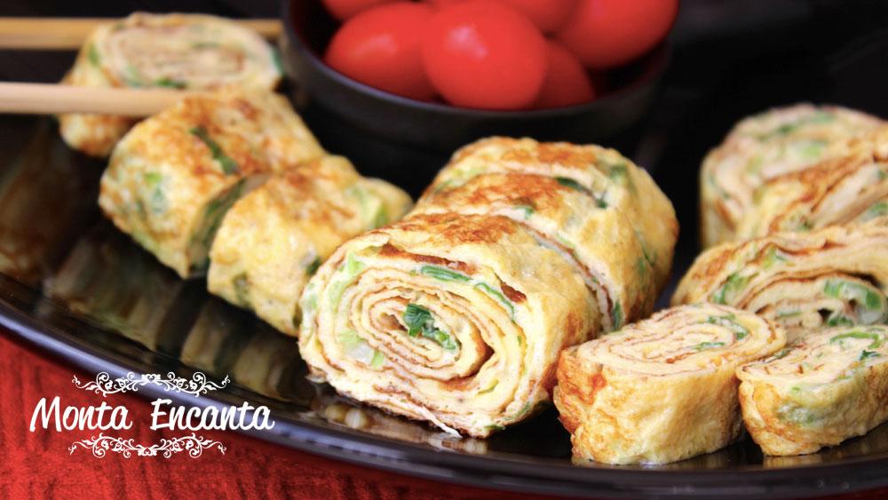 Omelete Japonesa - Tamagoyaki