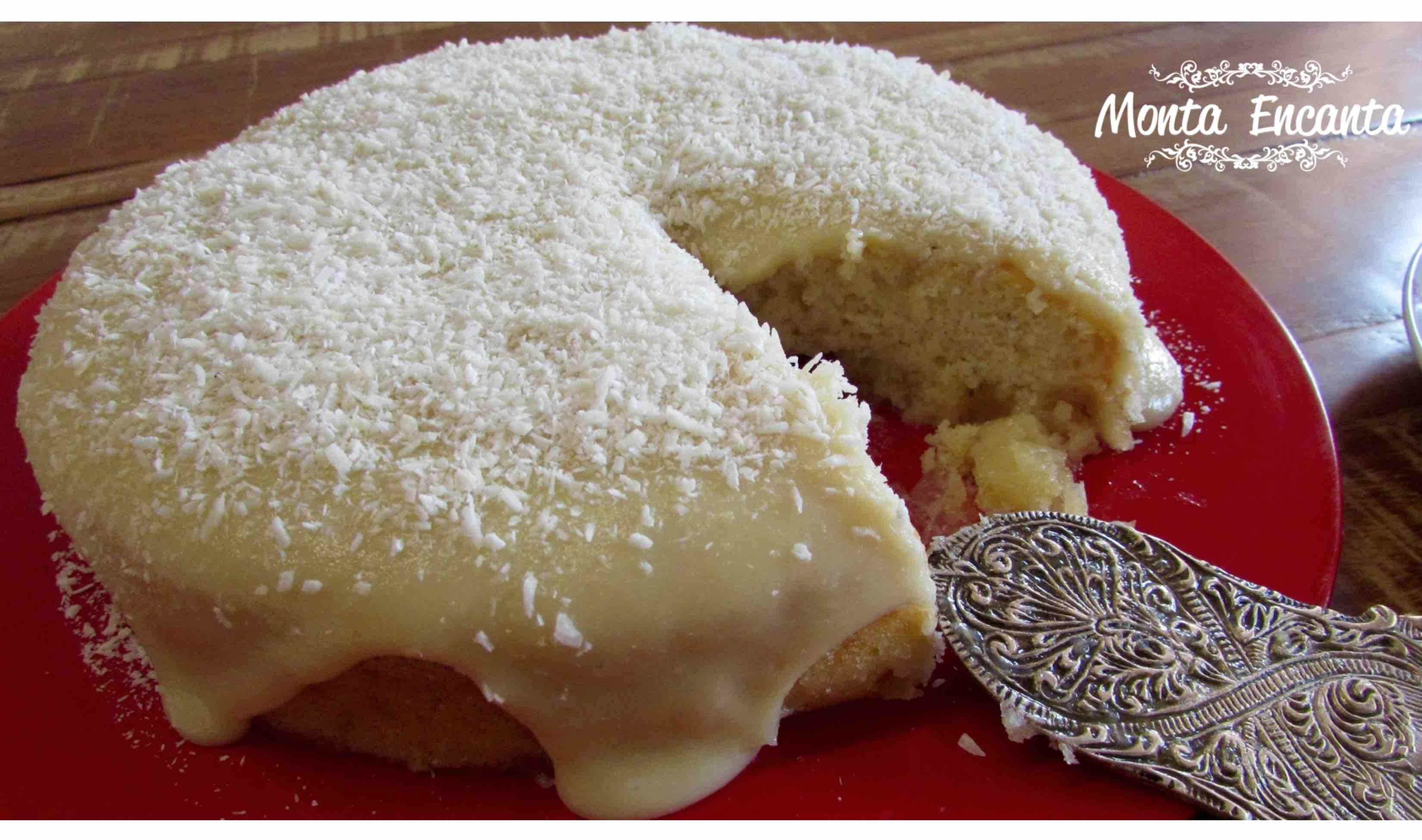 torta de abacaxi cremosa