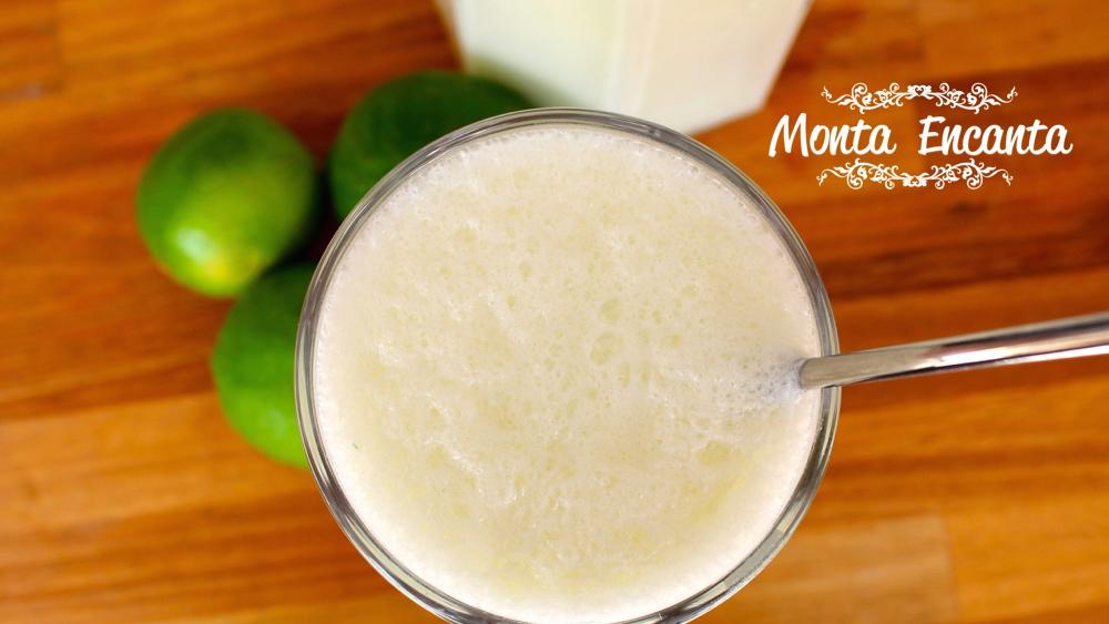 Limonada Suíça com Leite Condensado, para refrescar!
