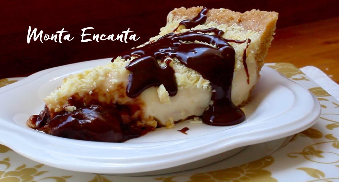 Excepcional Torta Mousse de Leite Ninho com Nutella - Monta Encanta SS23