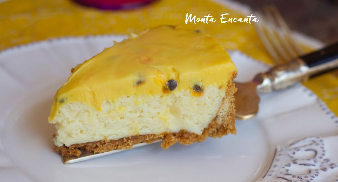 Torta Mousse Trufada de Maracujá, equilíbrio perfeito!