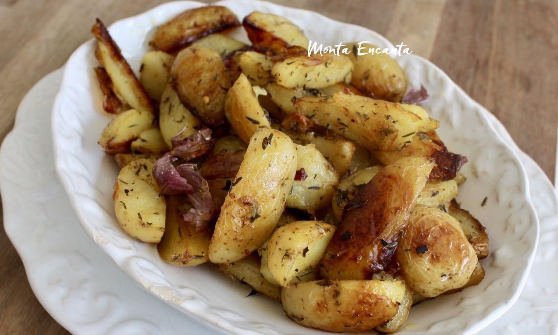 batata rustica assada