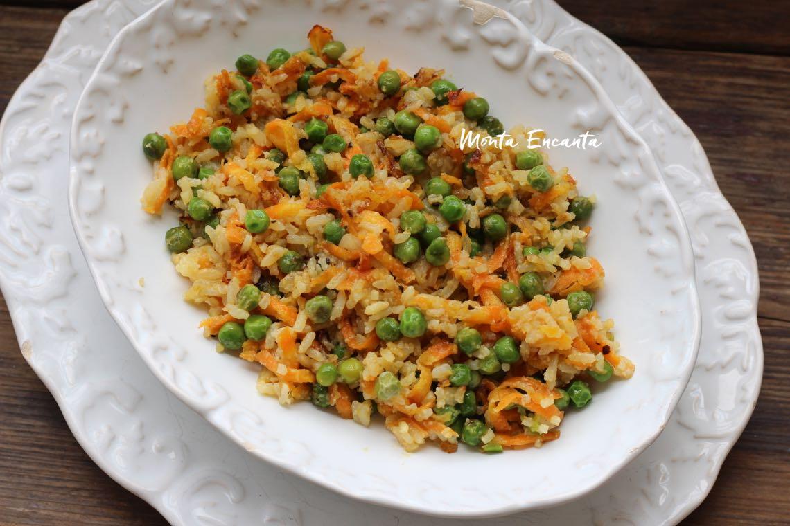 arroz de ontem