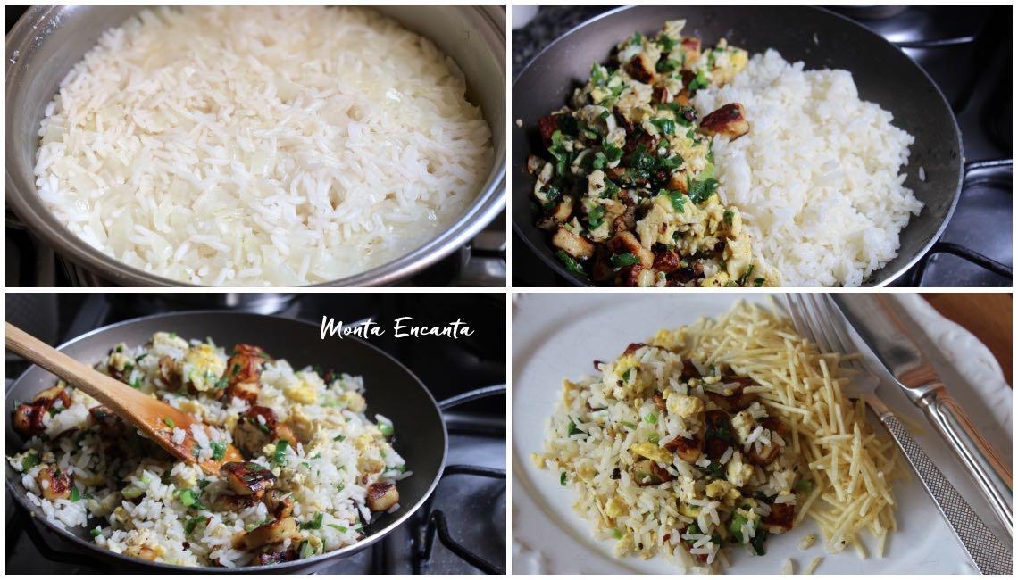 arroz com coalho