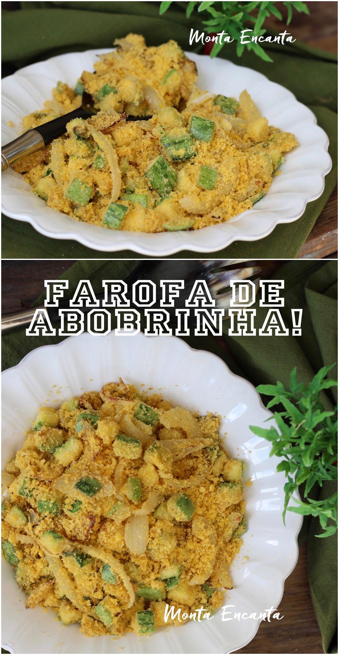 Farofa de Abobrinha