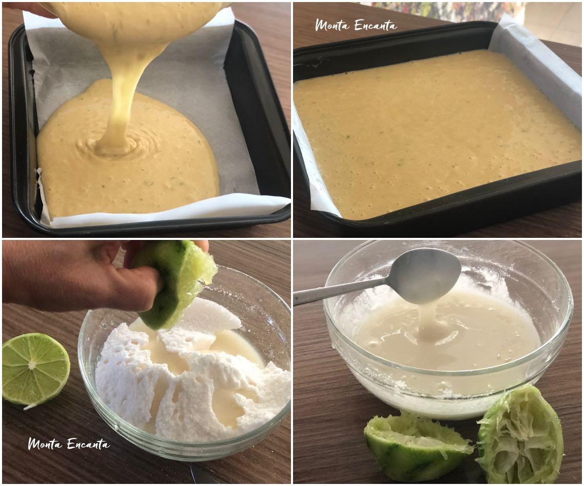 bolo de limão sem glúten