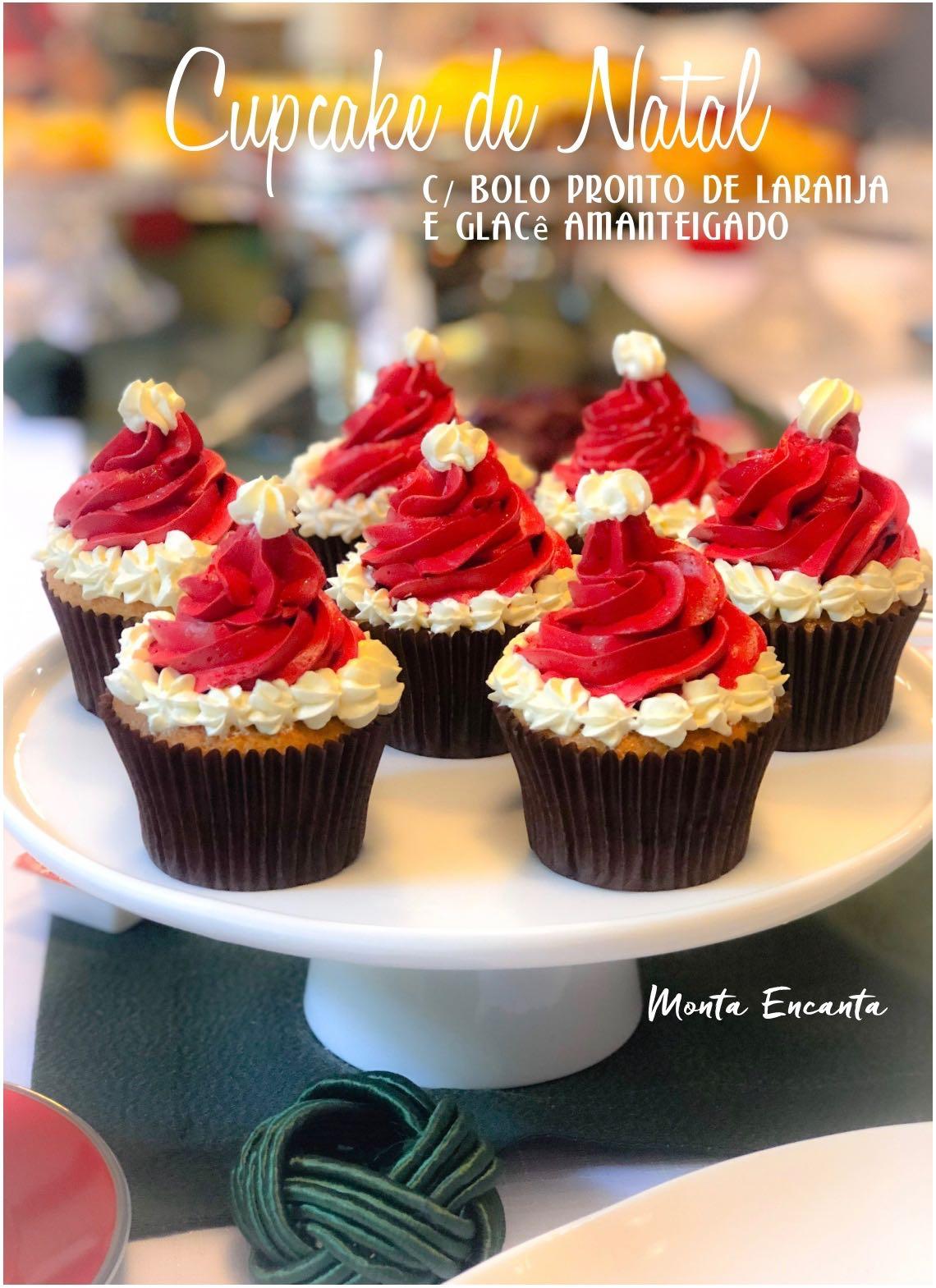 cupcake do noel