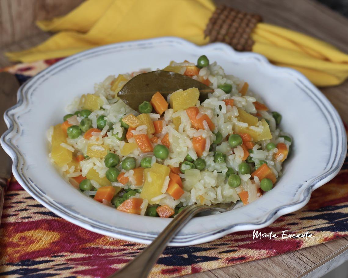 arroz à jardineira