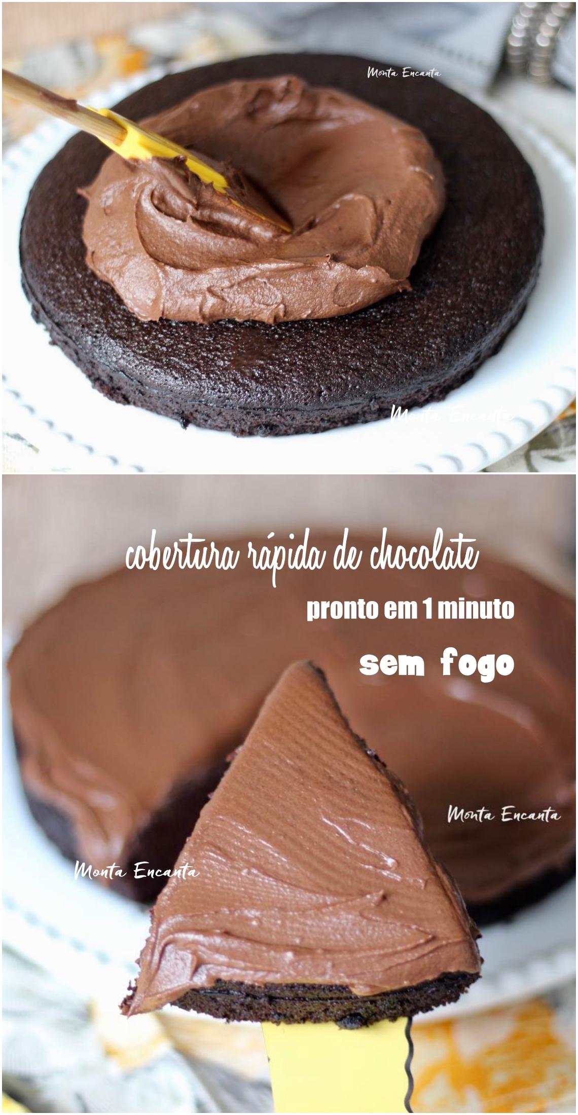 glacê de chocolate