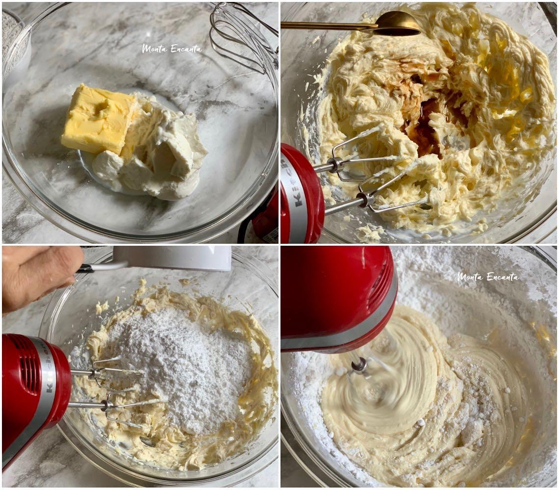 cobertura americana a base de cream cheese com manteiga