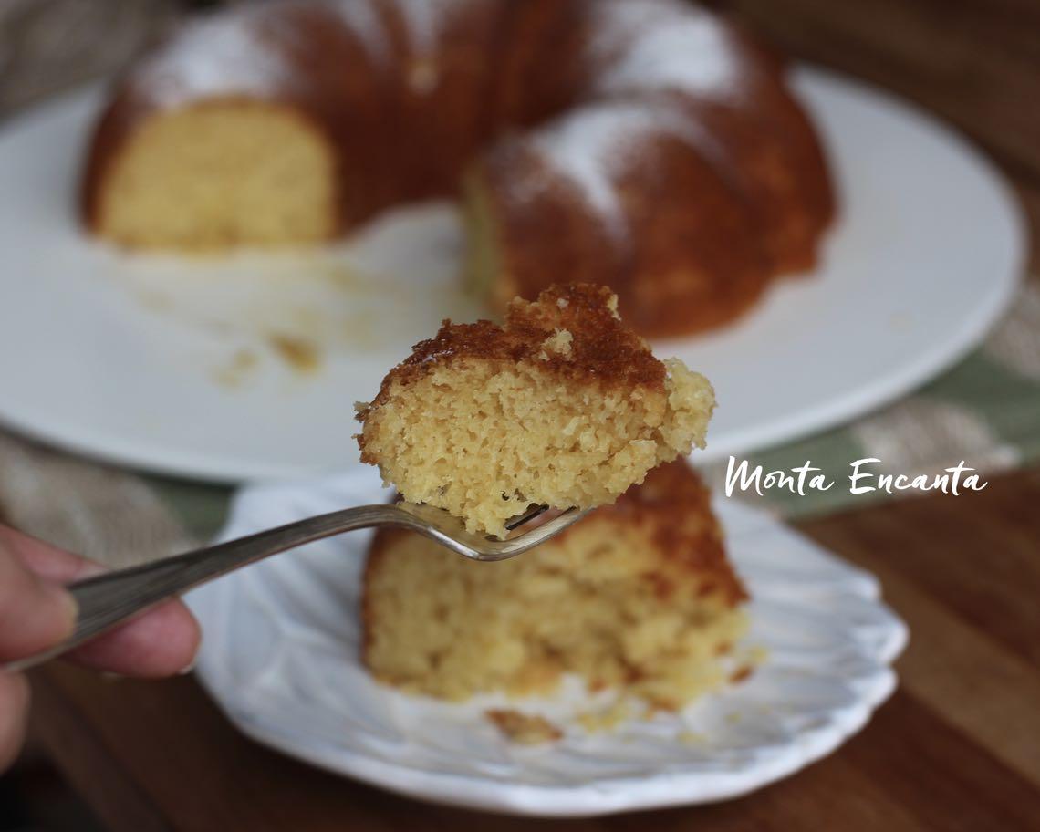 bolo de iogurte com mel