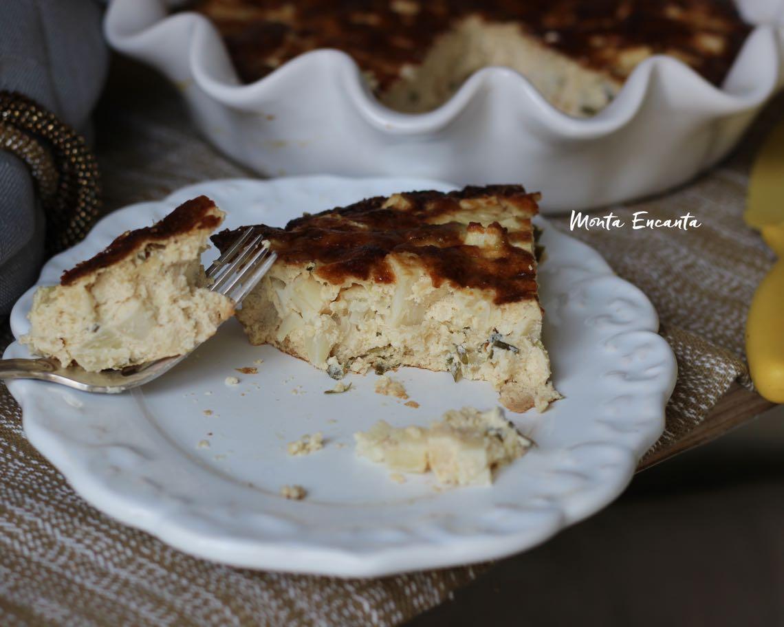 torta low carb de palmito sem farinha de trigo