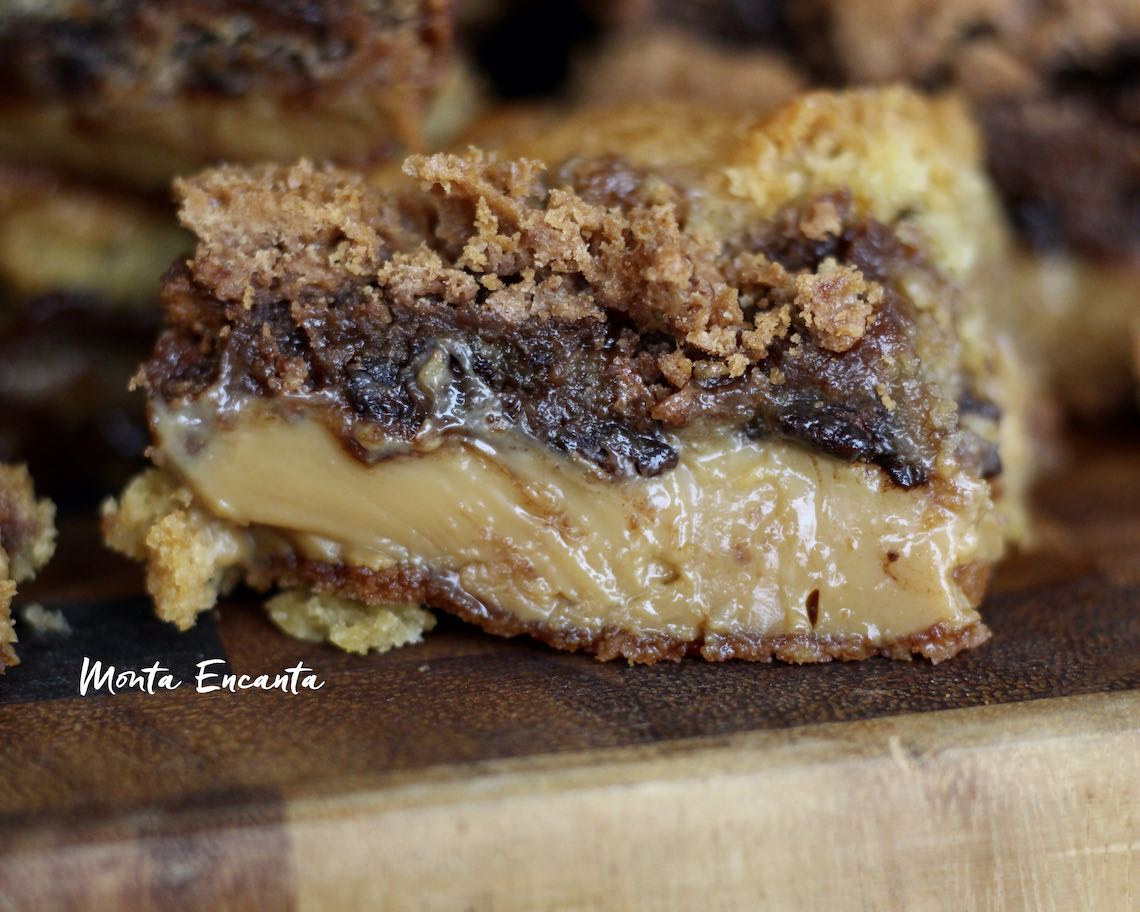 cookie brownie doce de leite
